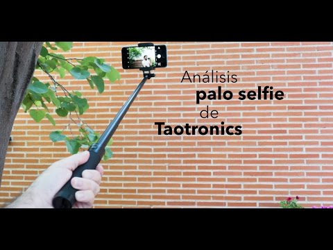Análisis palo selfie bluetooth para iPhone Taotronics