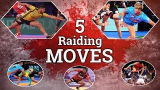 RAIDING MOVES YOU SHOULD KNOW || VIVO PRO KABADDI