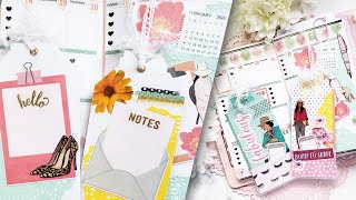 FABULOUSLY CREATIVE Travelers Notebook Plan With Me And DIY Tags