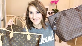 LV NEVERFULL GM VS. MM | REVIEW/COMPARISON