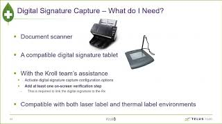Improve your workflow with Kroll digital signature capture