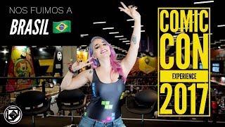 NOS FUIMOS A BRASIL Y MIRA TODO LO QUE PASÓ !!! #CCXP117