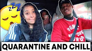QUARANTINE AND CHILL?! A VLOG FINALLY!!