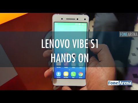 Lenovo Vibe S1 Hands On