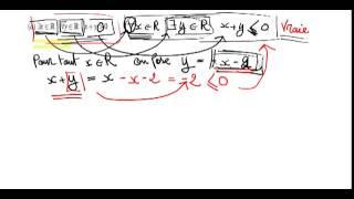 المنطق الرياضي (la logique)   من الأستاذ نور الدين المشكور