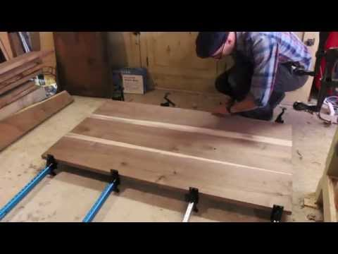 Building a Walnut Dining Table: The Hosey Workshop