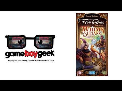 The Game Boy Geek Reviews Five Tribes: Whims of  the Sultan