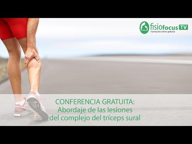 Conferencia gratuita: Abordaje de las lesiones del complejo del tríceps sural
