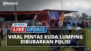 Video Polisi Bubarkan Pentas Kuda Lumping di Banjarnegara, Bupati Anggap Seruannya Banyak yang Salah