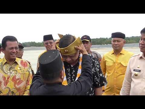 Menko Perekonomian Airlangga Hartarto Kunjungi KEK Galang Batang