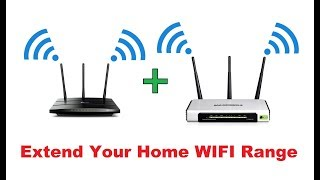 How to extend your wifi range with another router