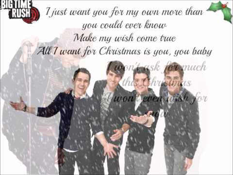 Big Time Rush - All I Want For Christmas