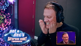Antony Cotton's 'Get Out Of Me Ear!' Prank With Ant & Dec - Saturday Night Takeaway