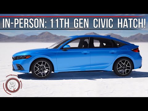 2022 Honda Civic Sport Touring Hatchback – Redline: First Look *In-Person*
