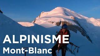 Traversée du Mont-Blanc Aiguille du Midi Mont-Blanc du Tacul Mont Maudit alpinisme montagne Chamonix