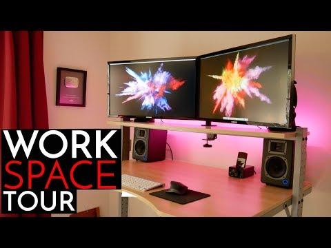Doctor's Productivity Desk Setup (2018)