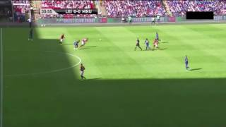 Jesse Lingard goal   Manchester United vs Leicester City Community Shield 2016