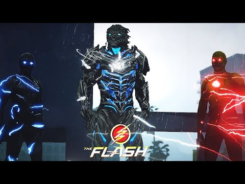 Reverse Flash VS Zoom VS Savitar (GTA 5 Flash Mod)