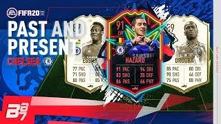 PAST AND PRESENT CHELSEA SQUAD BUILDER! w/ ICON DROGBA & OTW 91 HAZARD!  | FIFA 20 ULTIMATE TEAM