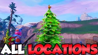 """""""Dance in front of different Holiday Trees"""" 