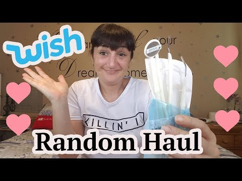 Testing Out A Random Haul  From WISH #9