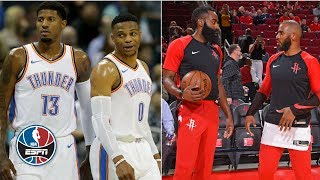 Can the Thunder or Rockets knock off the Warriors? | NBA Countdown