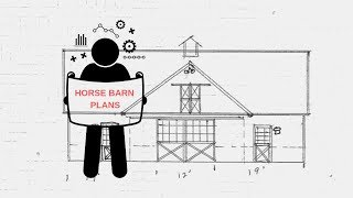 4-STALL HORSE BARN PLANS - FREE DOWNLOAD!