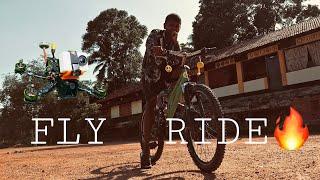 FPV vs BICYCLE ???? RIDE ????????