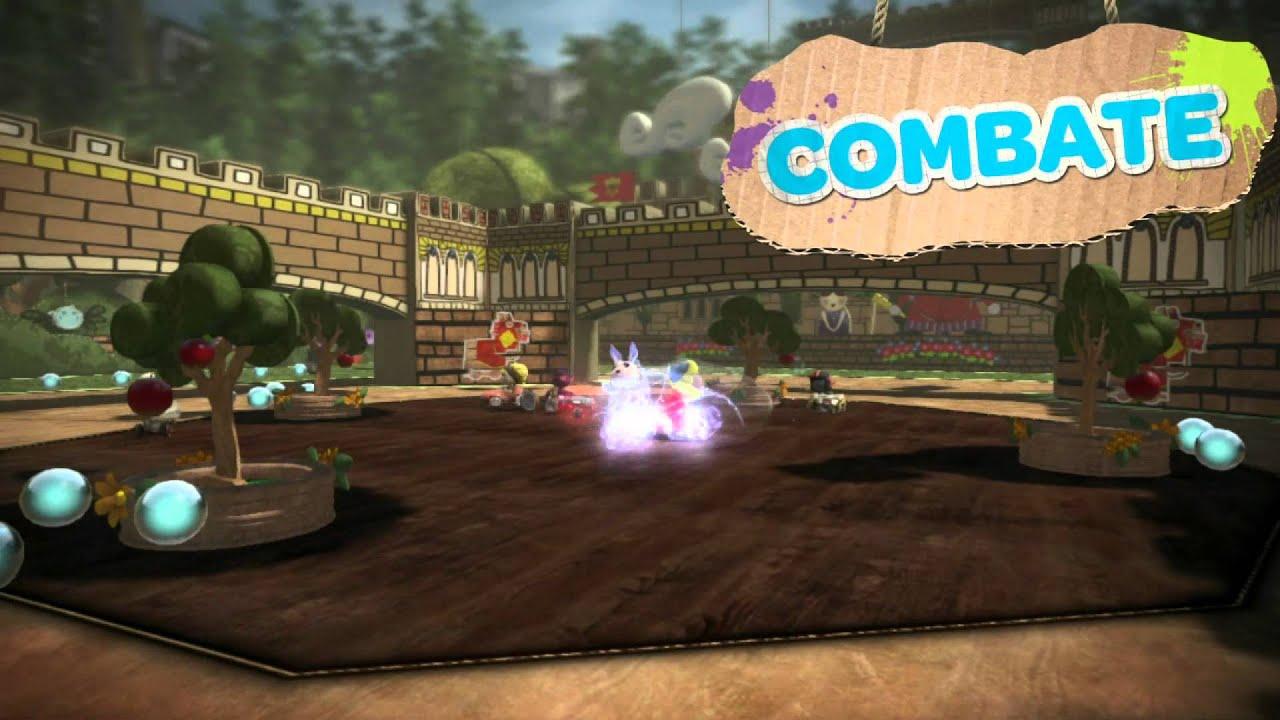 LittleBigPlanet Karting Acelera em Direção ao PS3