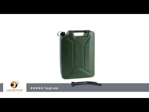 Benzinkanister 20 L Army Kunststoff | Erfahrungsbericht/Review/Test