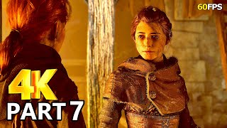 A Plague Tale Innocence Gameplay Walkthrough Part 7 - A Plague Tale PC 4K 60FPS