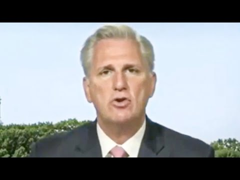 Kevin McCarthy Makes Up A New Reason to Hate Nancy Pelosi