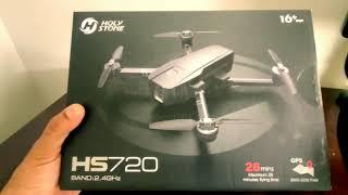 Unboxing & Setup Holystone HS720 Drone Camera