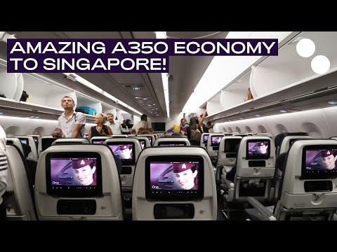 QATAR AIRWAYS A350-900XWB ECONOMY CLASS I DOHA - SINGAPORE