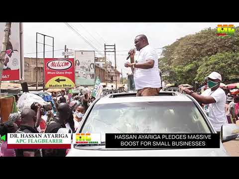 APC's Dr. Hassan Ayariga Kickstarts Campaign From Greater Accra