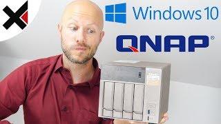 Windows 10 auf QNAP NAS installieren | iDomiX
