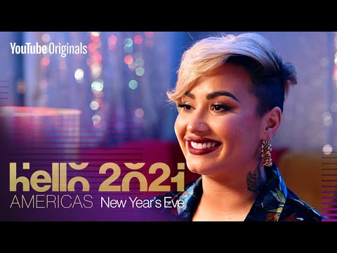Mindfulness with Demi Lovato - YouTube's Hello 2021: Americas
