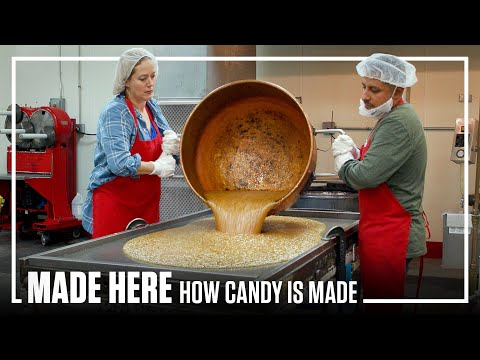 Meditation on the labor intensive candy making process
