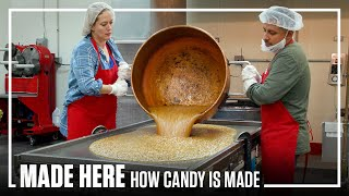 Inside The Largest Handmade Candy Factory | Popular Mechanics | MADE HERE