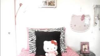 Room Tour! ~ Pink and Zebra Print