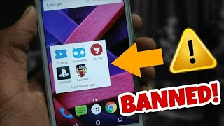 Top 5 useful apps BANNED from Play Store | Curious Apps