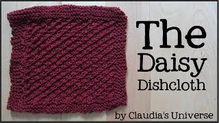 How To Knit A Daisy Dishcloth