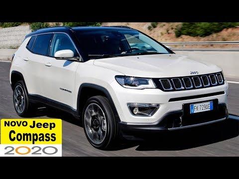 Jeep Compass 2020 Semi-autônomo Super tecnológico