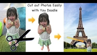 How to Cut Out Photos with You Doodle app on iPhone