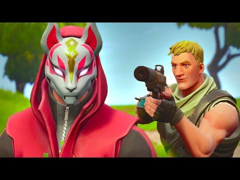 DRIFT GETS HUNTED BY A NOOB - Fortnite Short Film