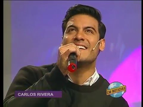 Carlos Rivera video Como pagarte - Estudio CM 2016