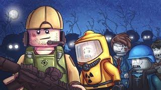 LEGO ZOMBIE APOCALYPSE! Navy Seals Vs Zombies! Lego Film Part 3
