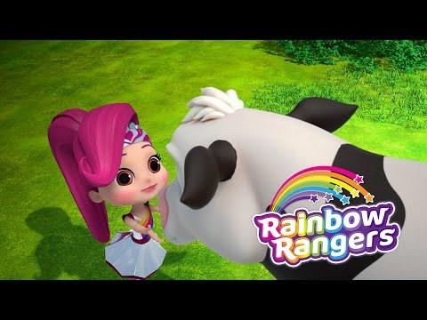 , title : 'Rangers Rescue Dairy Cows | Rainbow Rangers Episode Clip