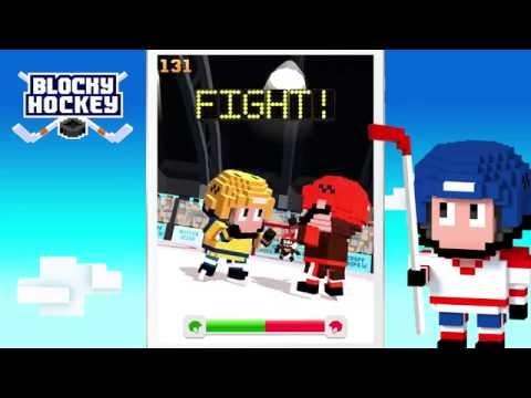 Vidéo Blocky Hockey - Ice Runner