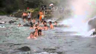 Boiling River Hot Springs, Yellowstone National Park